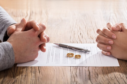 Florida couple filing for divorce